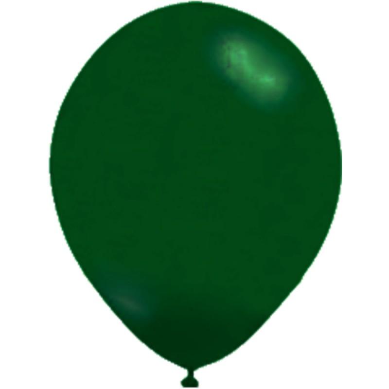 Balão Verde Escuro Nº9 • 50un • JOY