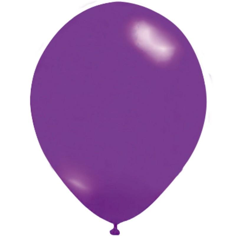 Balão Violeta Nº9 • 50un • JOY