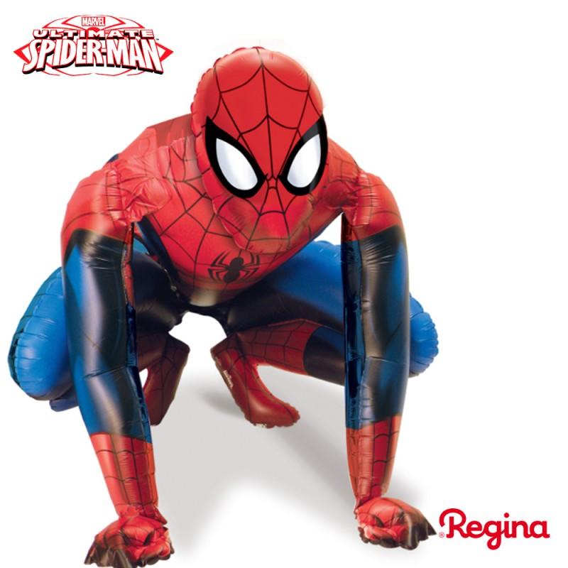 Balão Homem Aranha • AirWalker Metalizado • Regina