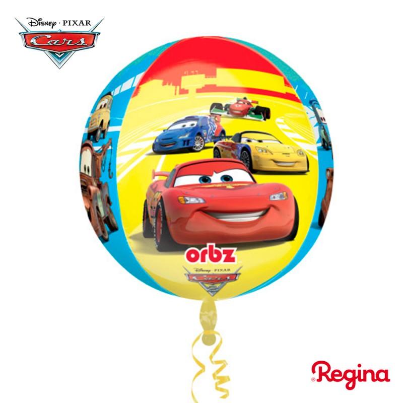 Balão Bola Carros • Metalizado • Regina