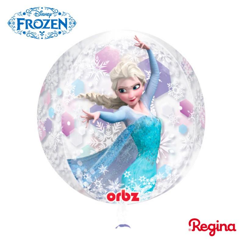 Balão Bola • Frozen Aventura Congelante • Regina