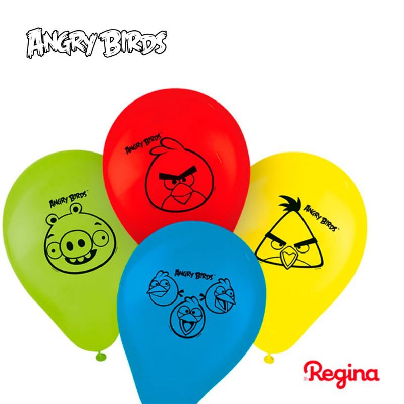 Balão Nº9 • 25un. • Angry Birds • Regina