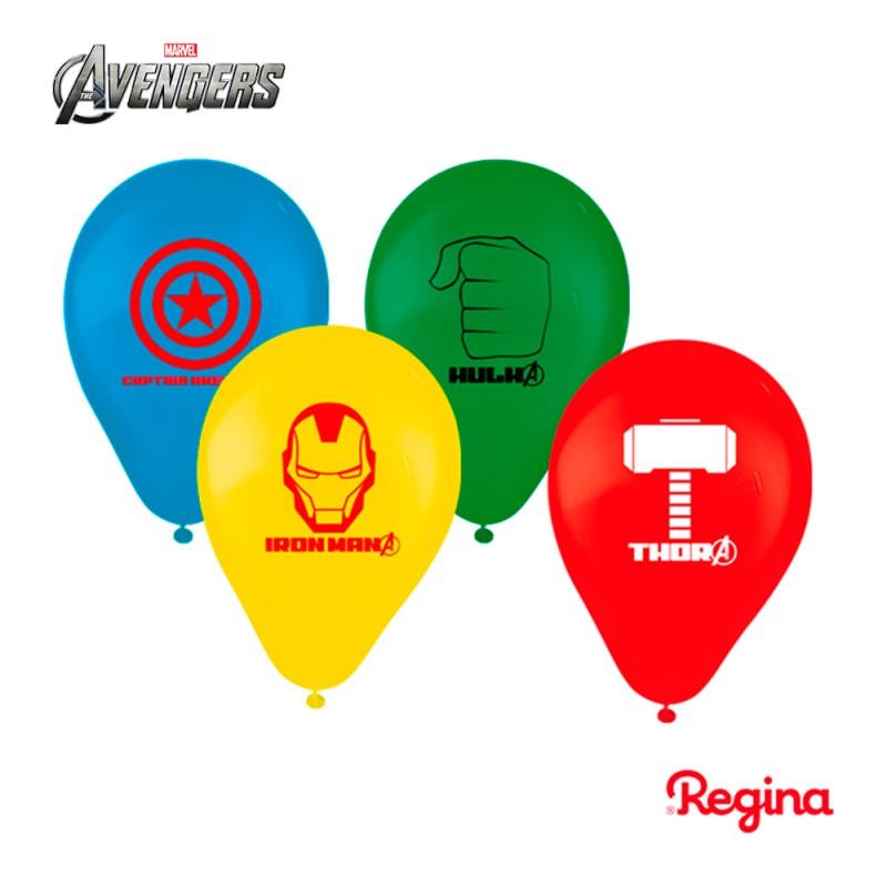 Balão Nº9 Os Vingadores - Pacote C/25un.