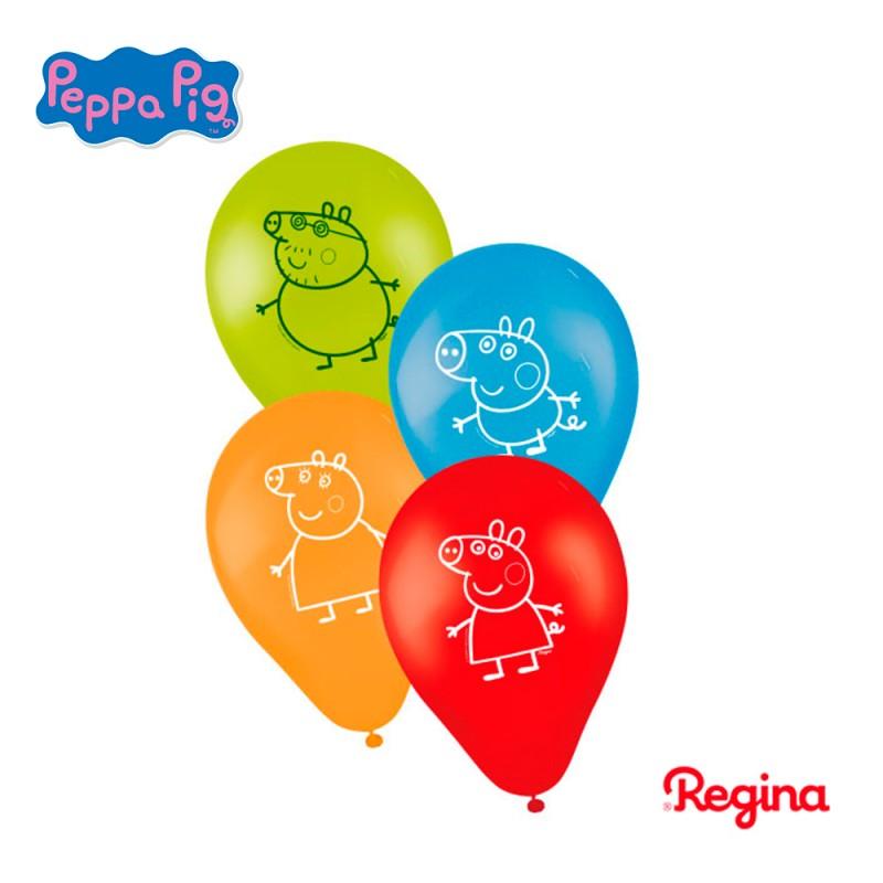 Balão Nº9 Peppa Pig • Pacote 25un.• Regina