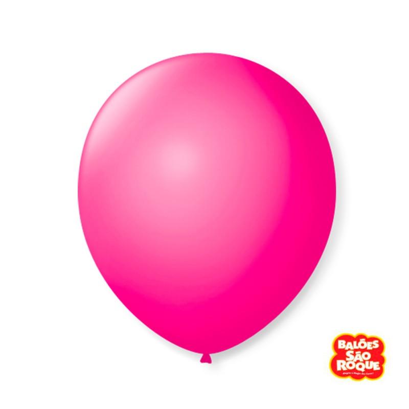 Balão Rosa Shock Nº9 • 50 un.• São Roque