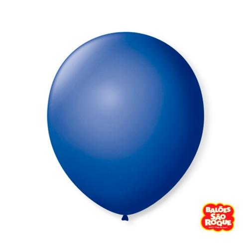 Balão Azul Cobalto Nº9 • 50 un.• São Roque