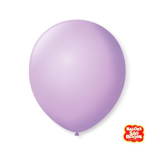 Balão Lilás Baby Nº9 • 50 un.• São Roque