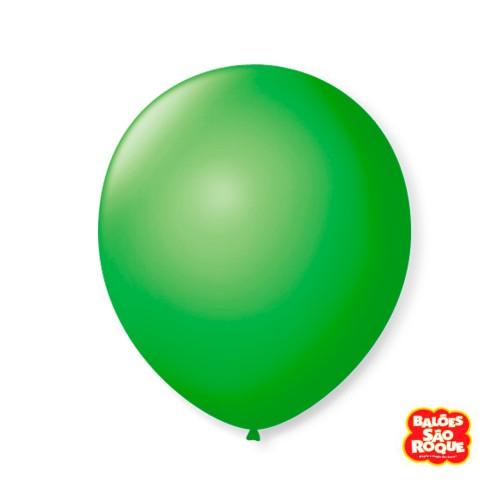 Balão Verde Maçã Nº9 • 50 un.• São Roque