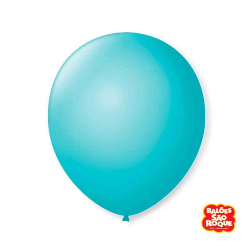 Balão Azul Oceano Nº9 • 50 un.• São Roque