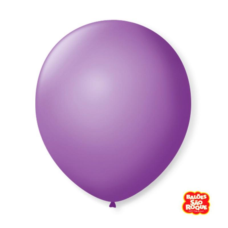 Balão Roxo Ametista Nº9 • 50 un.• São Roque