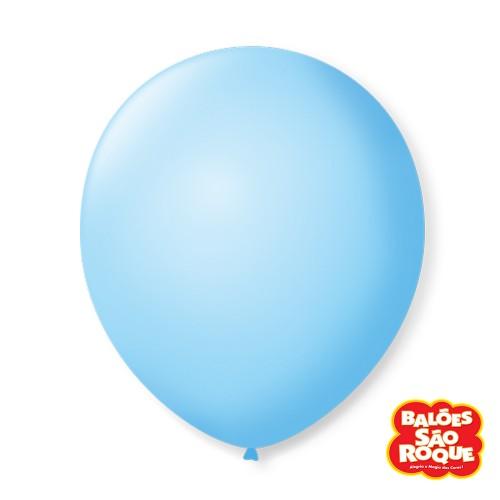 Balão Azul Baby Nº9 • 50 un.• São Roque