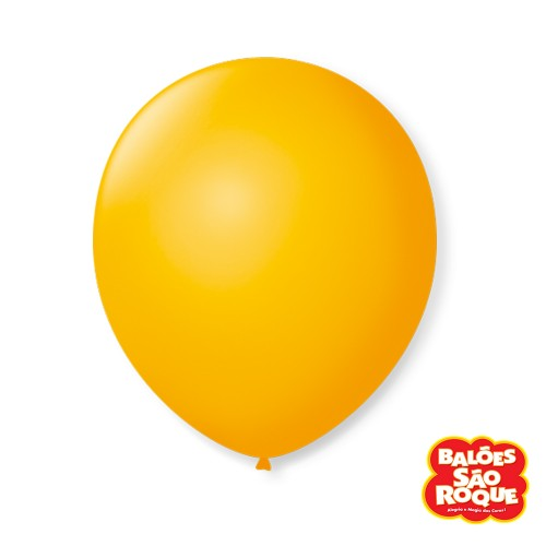 Balão Amarelo Sol Nº9 • 50 un.• São Roque