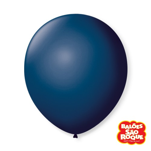 Balão Azul Petróleo Nº9 • 50 un.• São Roque