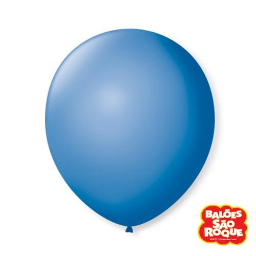 Balão Azul Turquesa Nº9 • 50 un.• São Roque