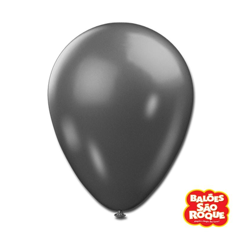 Balão Chumbo Metálico Nº9 • 25un.• São Roque