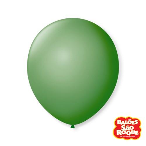 Balão Verde Bandeira Nº9 • 50 un.• São Roque