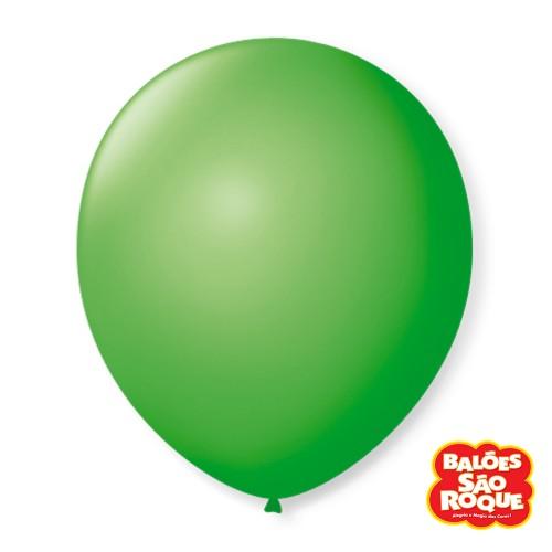 Balão Verde Maça Nº5 • 50 un.• São Roque
