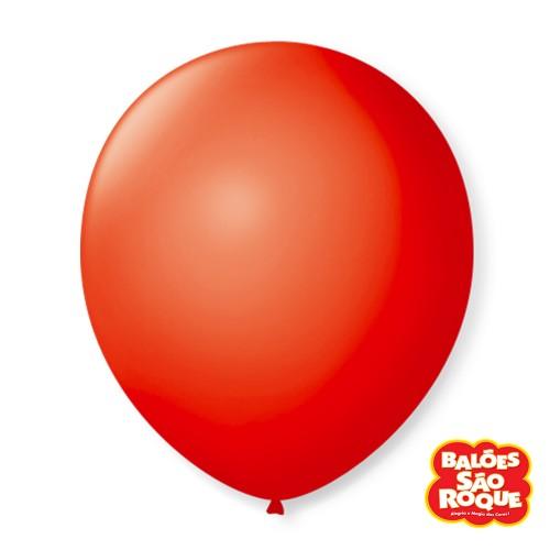 Balão Vermelho Quente Nº9 • 50 un.• São Roque