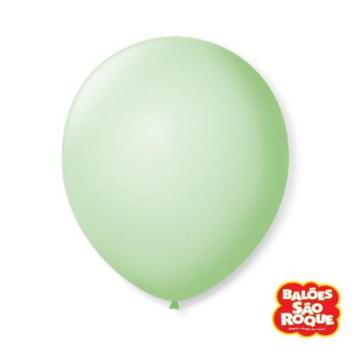 Balão Verde Hortelã Nº9 • 50 un.• São Roque