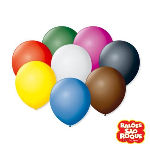 Balões Sortidos Nº9 • 50 un.• São Roque