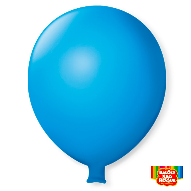 Balão Super Gigante Azul Celeste