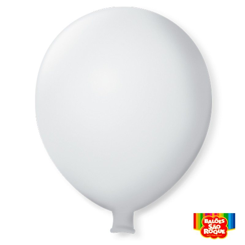 Balão Super Gigante Branco Polar