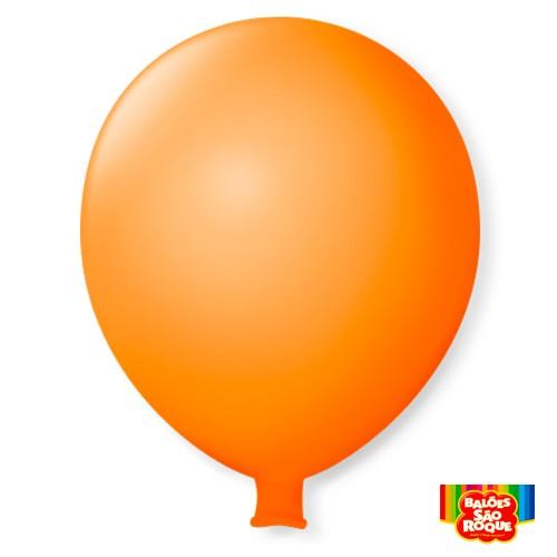 Balão Super Gigante Laranja Mandarim