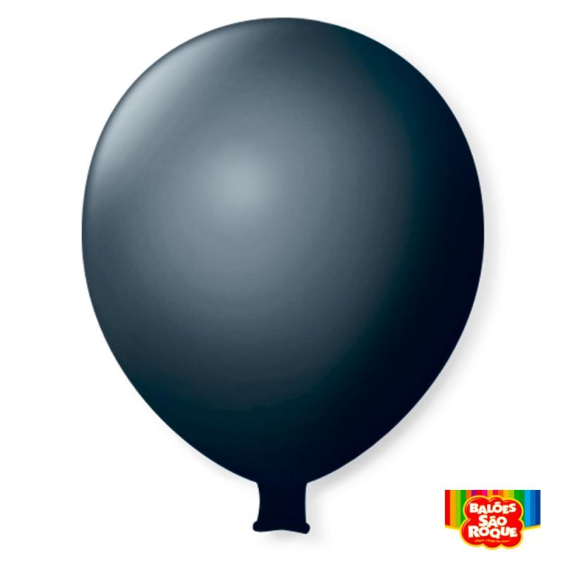 Balão Super Gigante Preto Ebano
