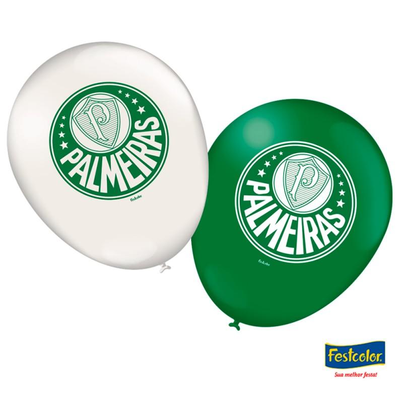 Balão Nº9 • Palmeiras • 25un. • Festcolor