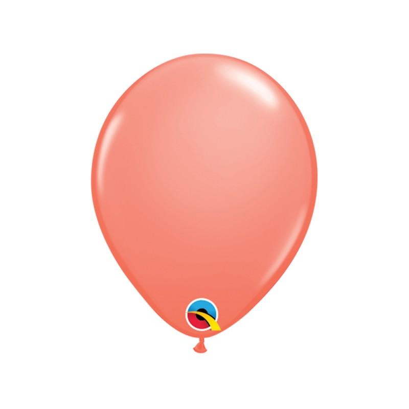 Balão Coral Nº5 • 100 un.• Qualatex