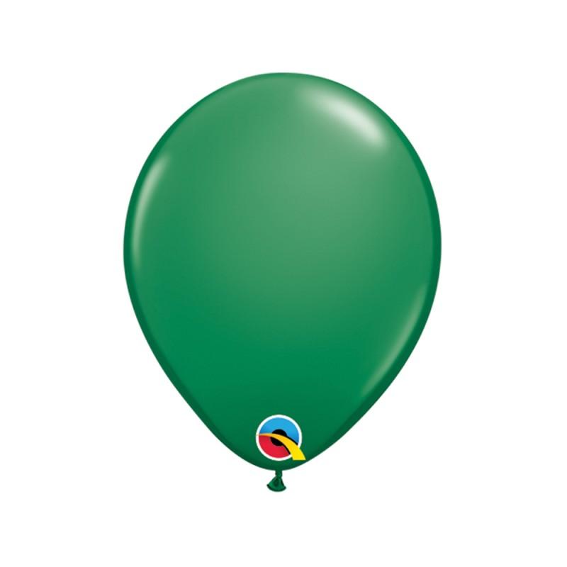 Balão Verde Nº5 • 100 un.• Qualatex