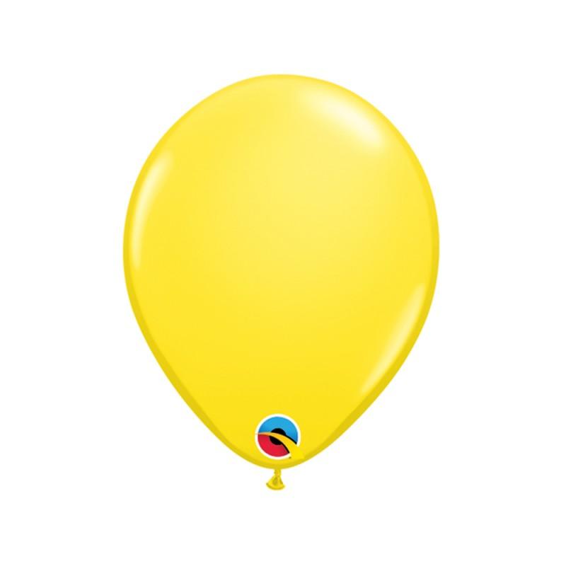 Balão Amarelo • Nº5 • 100 un. • Qualatex