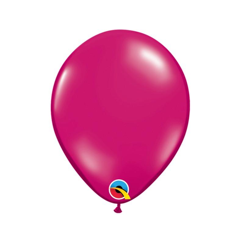 Balão Vermelho Magenta Nº5 • 100 un.• Qualatex