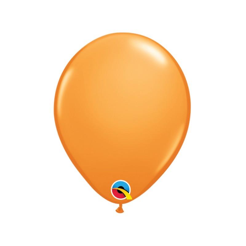Balão Laranja Nº5 • 100 un.• Qualatex