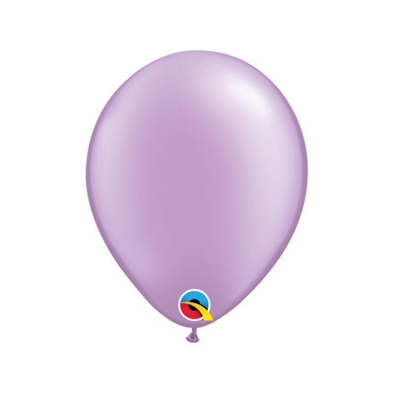 Balão Lilás Pérola Nº5 • 100 un.• Qualatex