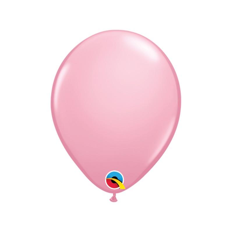 Balão Rosa Nº5 • 100 un.• Qualatex