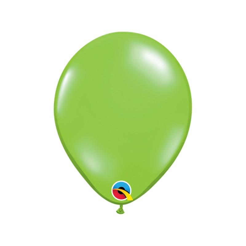 Balão Verde Limão Pérola Nº5 • 100 un.• Qualatex