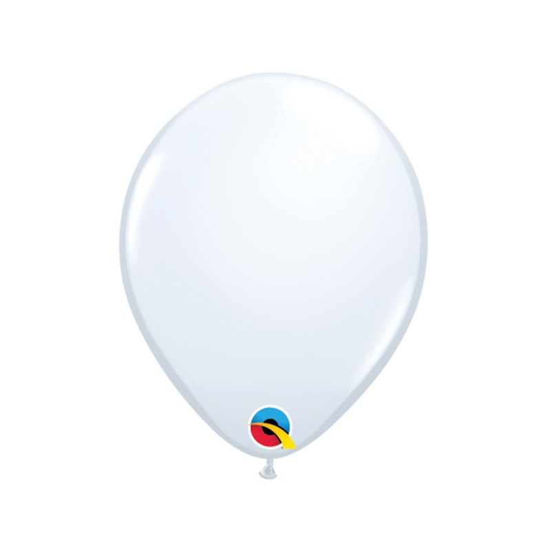 Balão Branco Nº5 • 100 un.• Qualatex