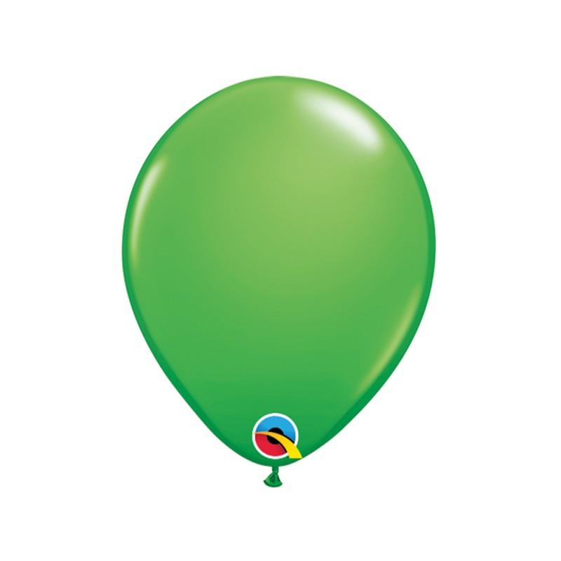 Balão Verde Primavera Nº5 • 100 un.• Qualatex