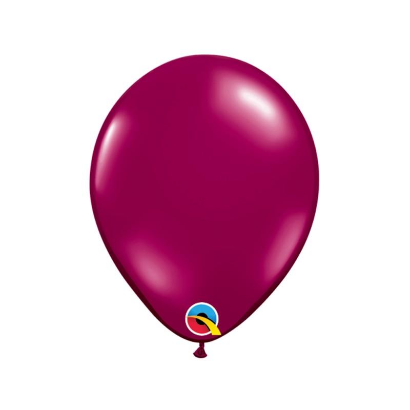 Balão Vinho Pérola Nº5 • 100 un.• Qualatex