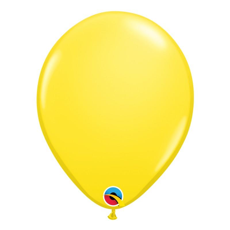 Balão Amarelo Nº11 • 25 un.• Qualatex