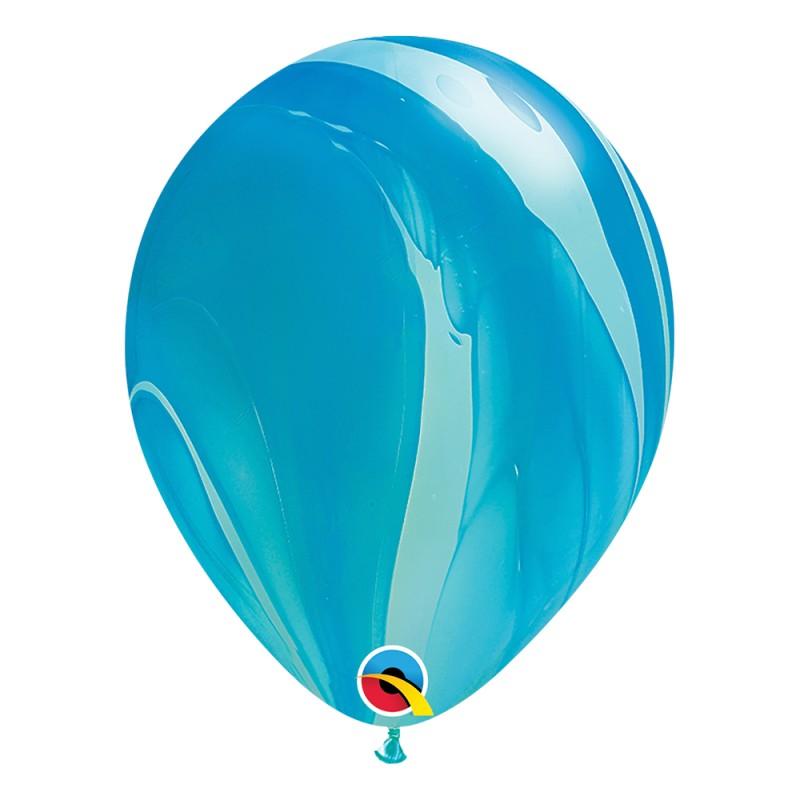 Balão Superagate • Azul • Nº11 • 25 un.