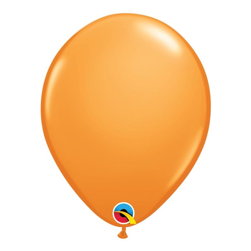 Balão Laranja Nº11 • 25 un.• Qualatex