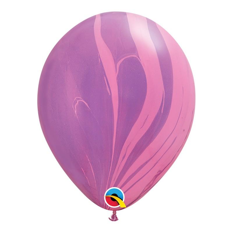 Balão Superagate • Pink Violet • Nº11 • 25 un.