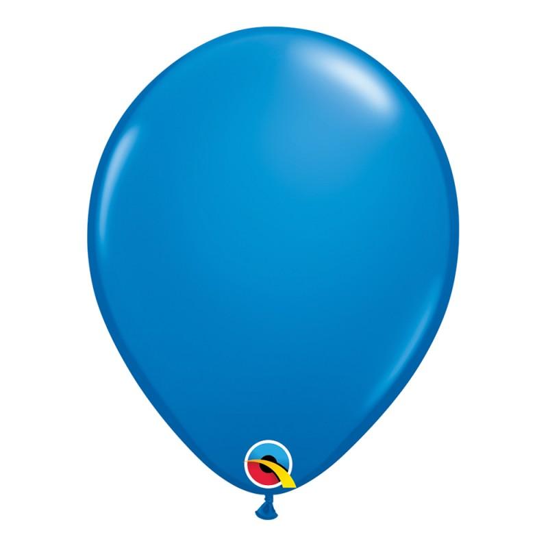 Balão Azul Escuro Nº11 • 25 un.• Qualatex