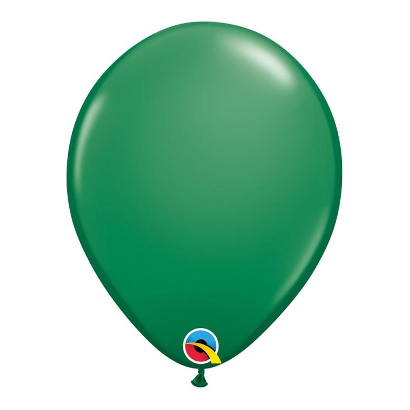 Balão Verde Nº11 • 25 un.• Qualatex