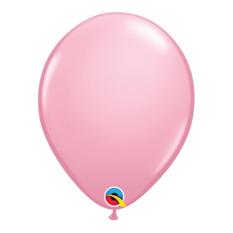 Balão Rosa Nº11 • 25 un.• Qualatex