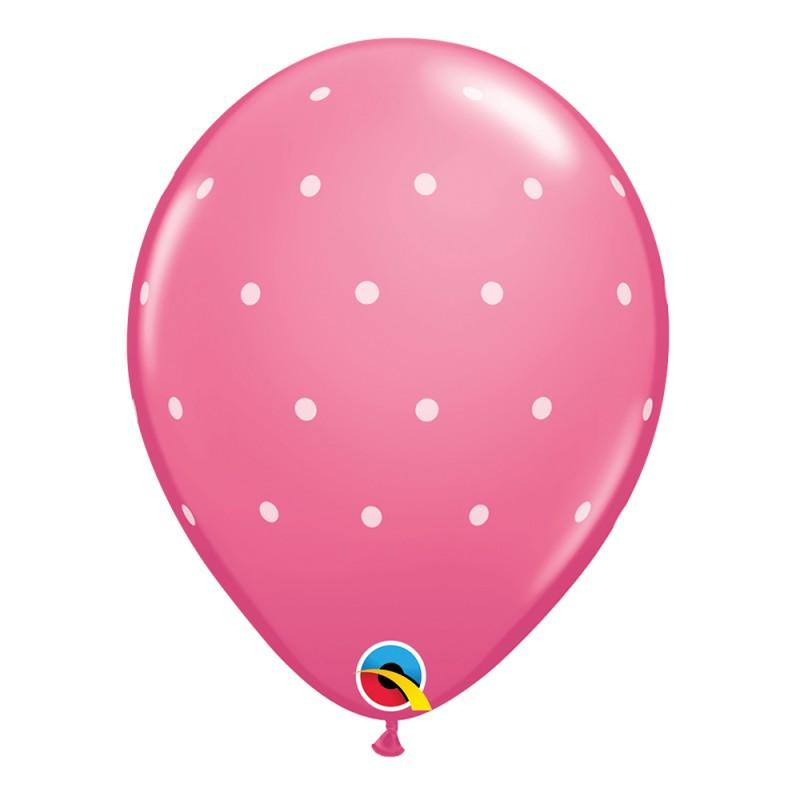 Balão Rosa Poá • Nº11 • 50un.• Qualatex