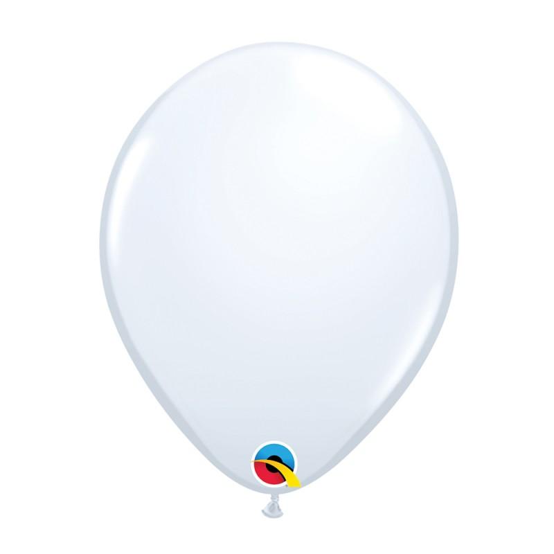 Balão Branco Nº11 • 25 un.• Qualatex