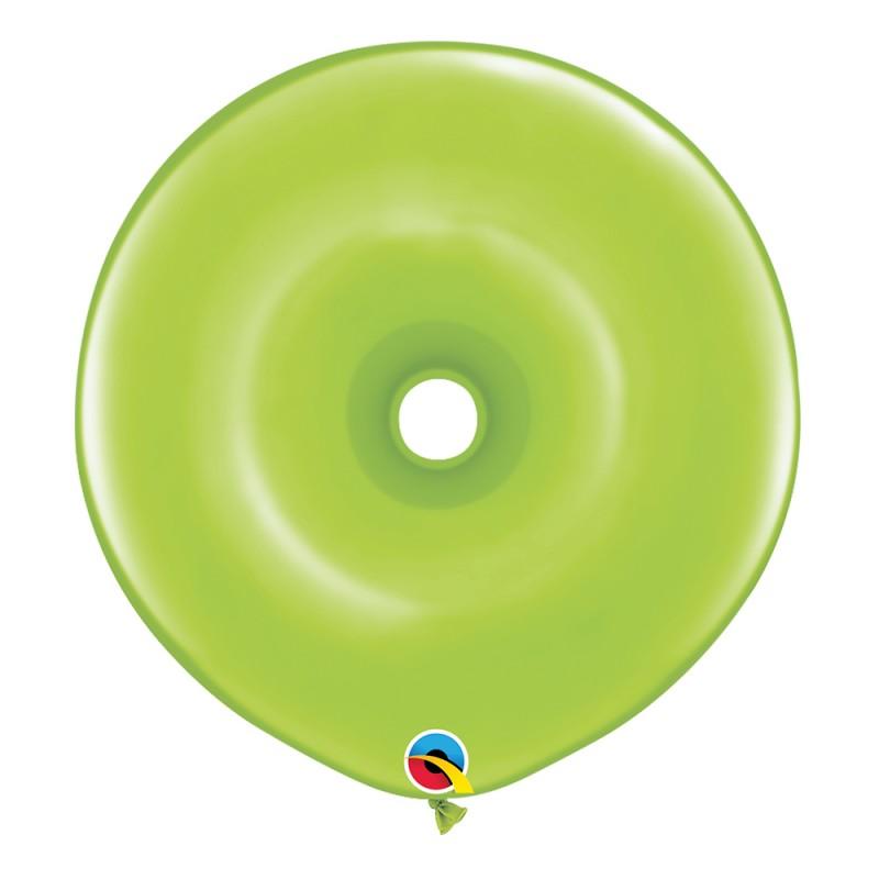 Balão Donut Verde Limão • 25 un.• Qualatex